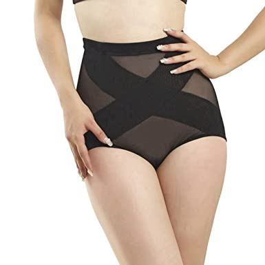 a148ea6420340 Waist Trainer Slimming Underwear Control Pants Butt Lifter Control Panties  Slim Body Shaper Hot Shapers Waist Trainer Corsets at Amazon Women s  Clothing ...