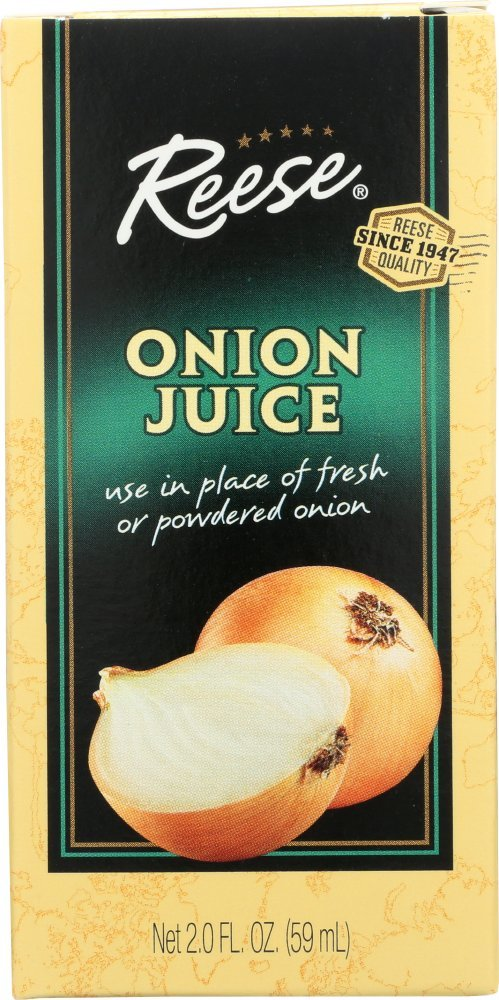 Reese Onion Juice, 2-Ounces (Pack of 12)