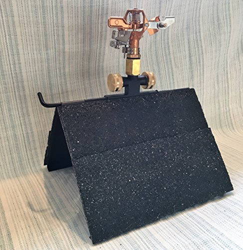 Rooftop Sprinkler for Wildfire Embers +3300 Sq. Ft. Cover, 3/4in U.S. Connection