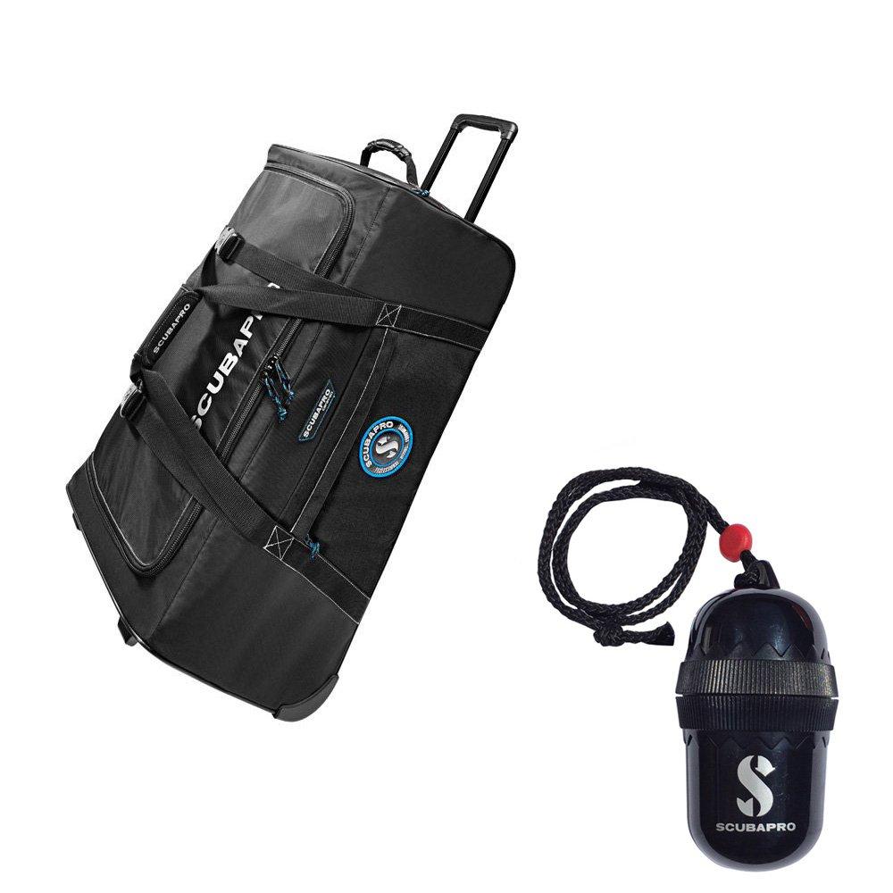 Scubapro Caravan SCUBA Gear Bag for Scuba Diving or Snorkeling Divers Egg Dry-Box w/String Black