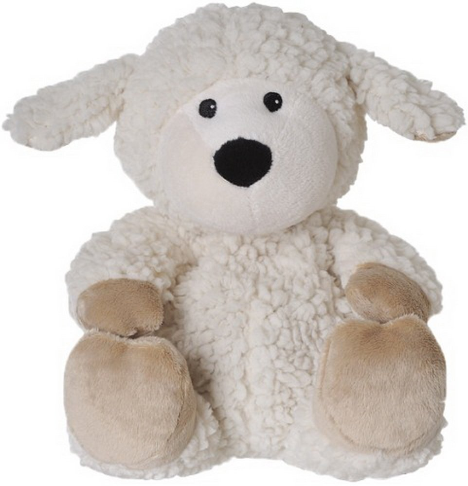 Warmies Beddy Bears Sheep Locke with Sherpa Herbal Scent Beige BabyCenter