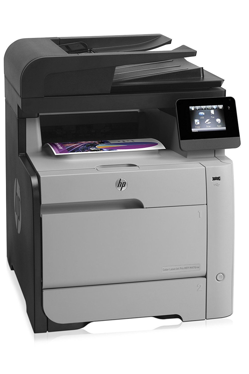 Amazon.com: HP LaserJet Pro M476nw Wireless All-in-One Color Printer,  Amazon Dash Replenishment ready (Discontinued By Manufacturer): Electronics