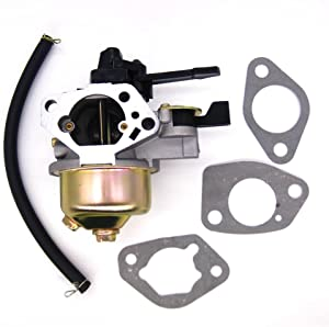 FitBest Carburetor Carb Fits Honda GX340 11HP 16100-ZE3-V01 with Choke Level and Gaskets