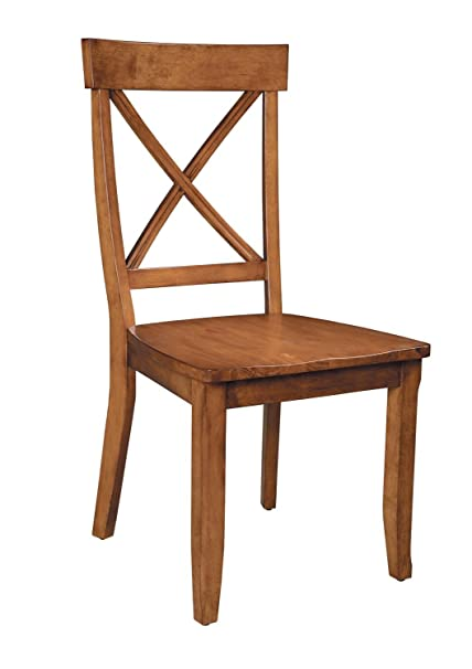 Amazoncom Home Styles 5179 802 Cottage Pair Of Dining Chairs 18 4