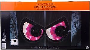 Halloween Spooky Eyes Suction Window Decoration - Purple