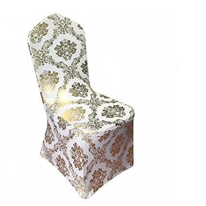 Cool Amazon Com Sinssowl 10Pc Bronzing Chair Cover Elastic Beatyapartments Chair Design Images Beatyapartmentscom