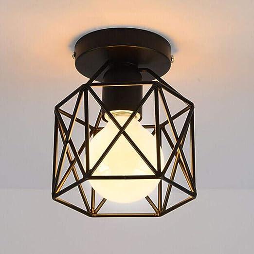Lampada da soffitto in stile vintage industriale, design