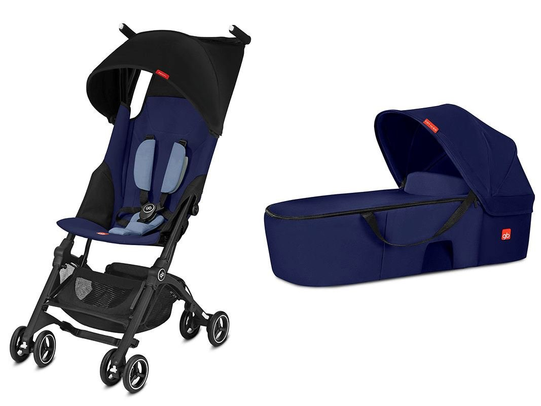 gb Pockit Plus Duo Travel System 2018 Sapphire Blue
