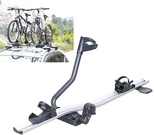 Instan Porta Bicicletas para Techo de Coche Portaequipajes de montaña para vehículos Todoterreno Marco único vehículo Todoterreno Marco de Techo de montaña SUV Coche Universal: Amazon.es: Hogar