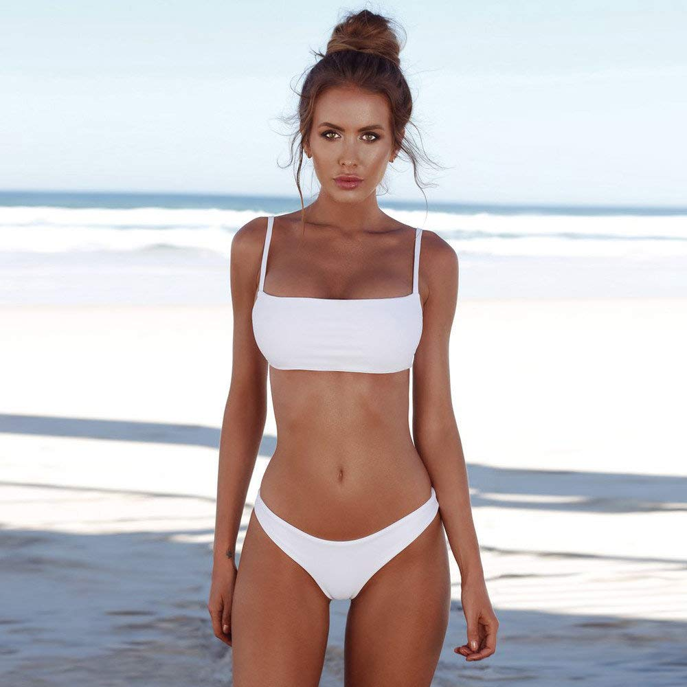 BaZhaHei Bikini Damen Bikini-Set Rot rot 42