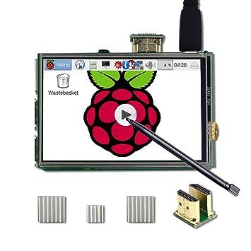 Amazon.com: UCTRONICS - Kit de pantalla LCD TFT HDMI de 3,5 ...