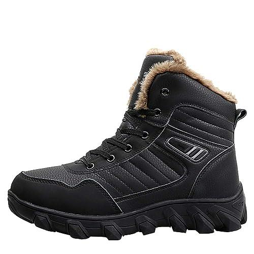 Botas De Invierno para Hombre Botas para La Nieve Zapatos De