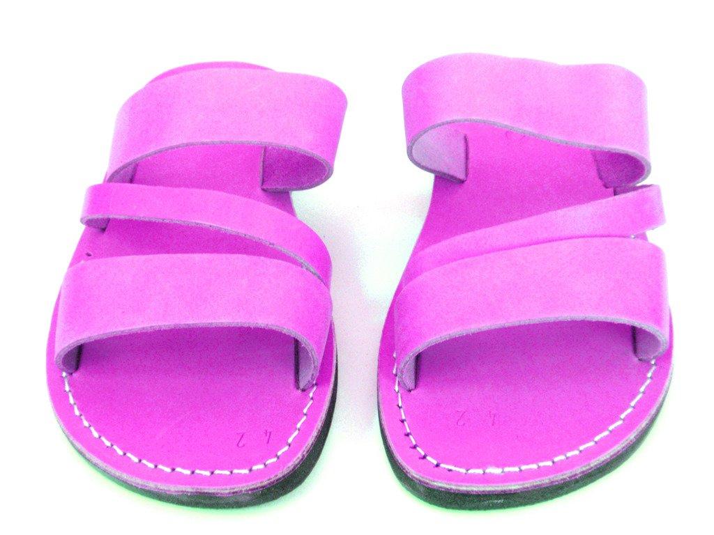 SANDALIM Leather Sandals for Men Flip Flops Greek Beautiful Comfortable 11 Colors Greece Style