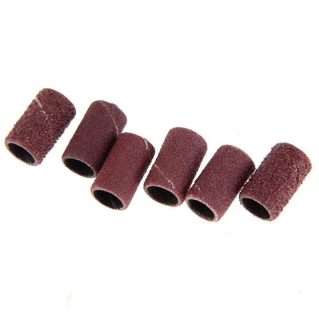 6 PC Manicure Pedicure Stücke Diamant-Nagelfeile setzt die ...