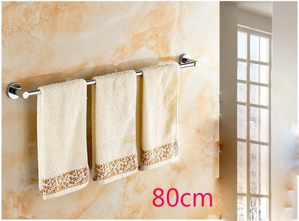 バスルームの棚 すべての銅の肥厚の浴室のタオルバーシングルタオルぶら下げ浴室の付属品浴室の棚 バスルームタオル収納ラック (サイズ さいず : 60 cm 60 cm) B07DBXVZKZ 60 cm 60 cm 60 cm 60 cm