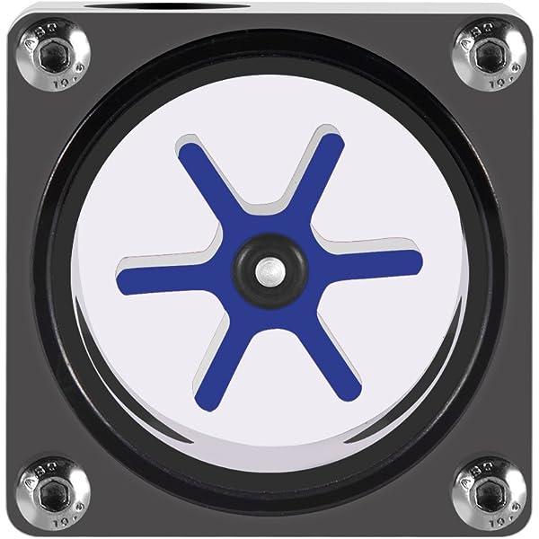 Plexi Water Cooling Monitoring Alphacool 18571 Eisfluegel Flow Indicator Black 6-11mm