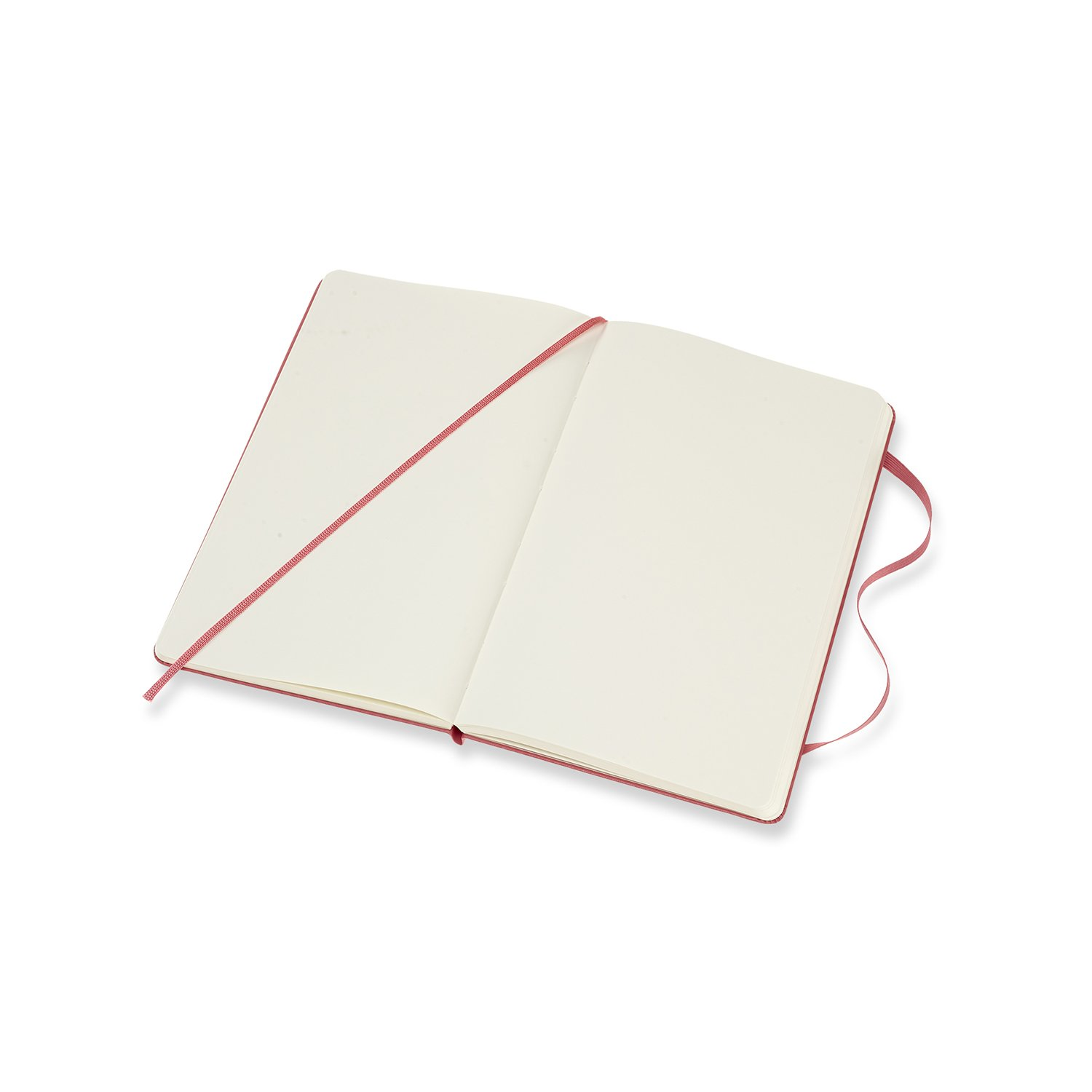 Classic Plain Paper Notebook Color Black Hard Cover and Elastic Closure Journal Size Medium 11.5 x 18-208 Pages Moleskine