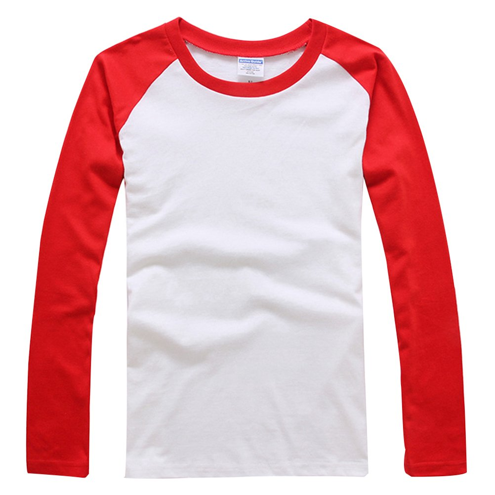 Baymate Unisexo M/ás El Tama/ño Be/ísbol Camisa con Manga Larga