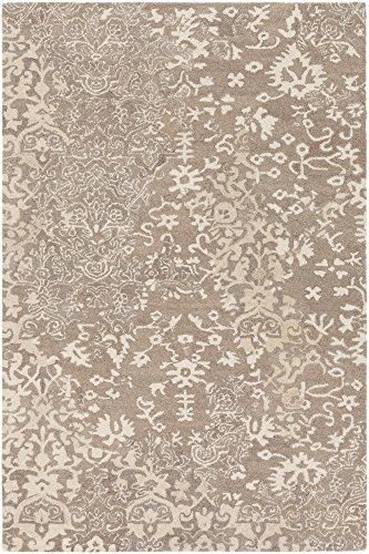 Surya AIL1004-810 Asheville Area Rug, 8' x 10' , Neutral, - Outlets Asheville