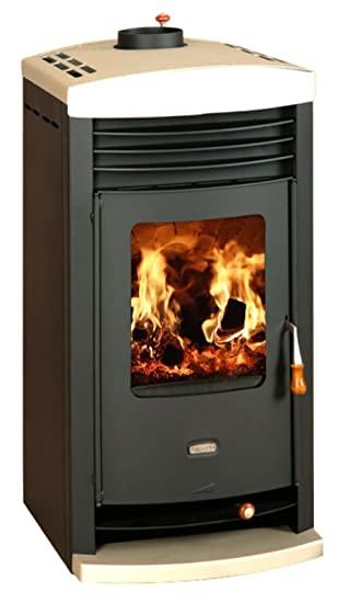 Holz Ofen Boiler Multi Kraftstoff Kaminofen Kamin Prity Sk W10