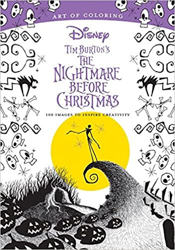 art of coloring tim burtons the nightmare before christmas 100 images to inspire creativity dbg 9781484789742 amazoncom books - Nightmare Before Christmas Coloring Book