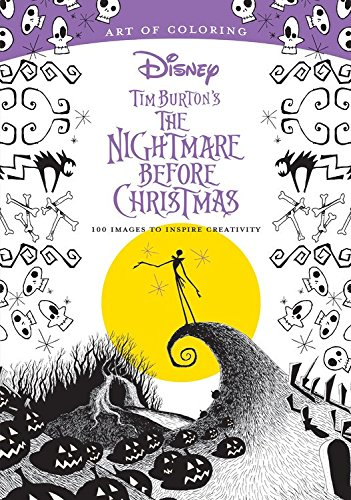 Art of Coloring: Tim Burton's The Nightmare Before Christmas: 100 Images to Inspire Creativity Christmas Designs To Color