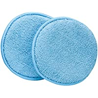 Viking Car Care Microfiber Applicator Pads - Blue - 2 Pack