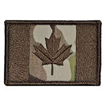 Canadian Flag Maple Leaf Canada 2x3 Military Patch / Morale Patch - Multiple Colors (Multicam)