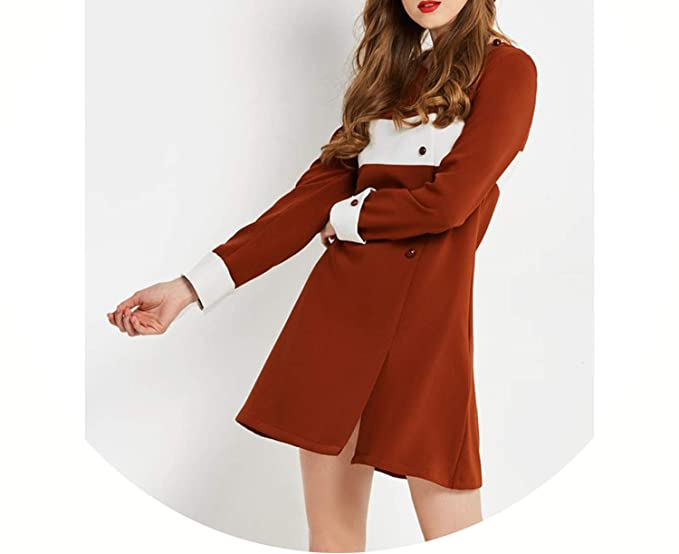 adacb4e0fe9 on Brand Vintage Dress Women Spring Long SLE Cr Block 60s Retro A ...