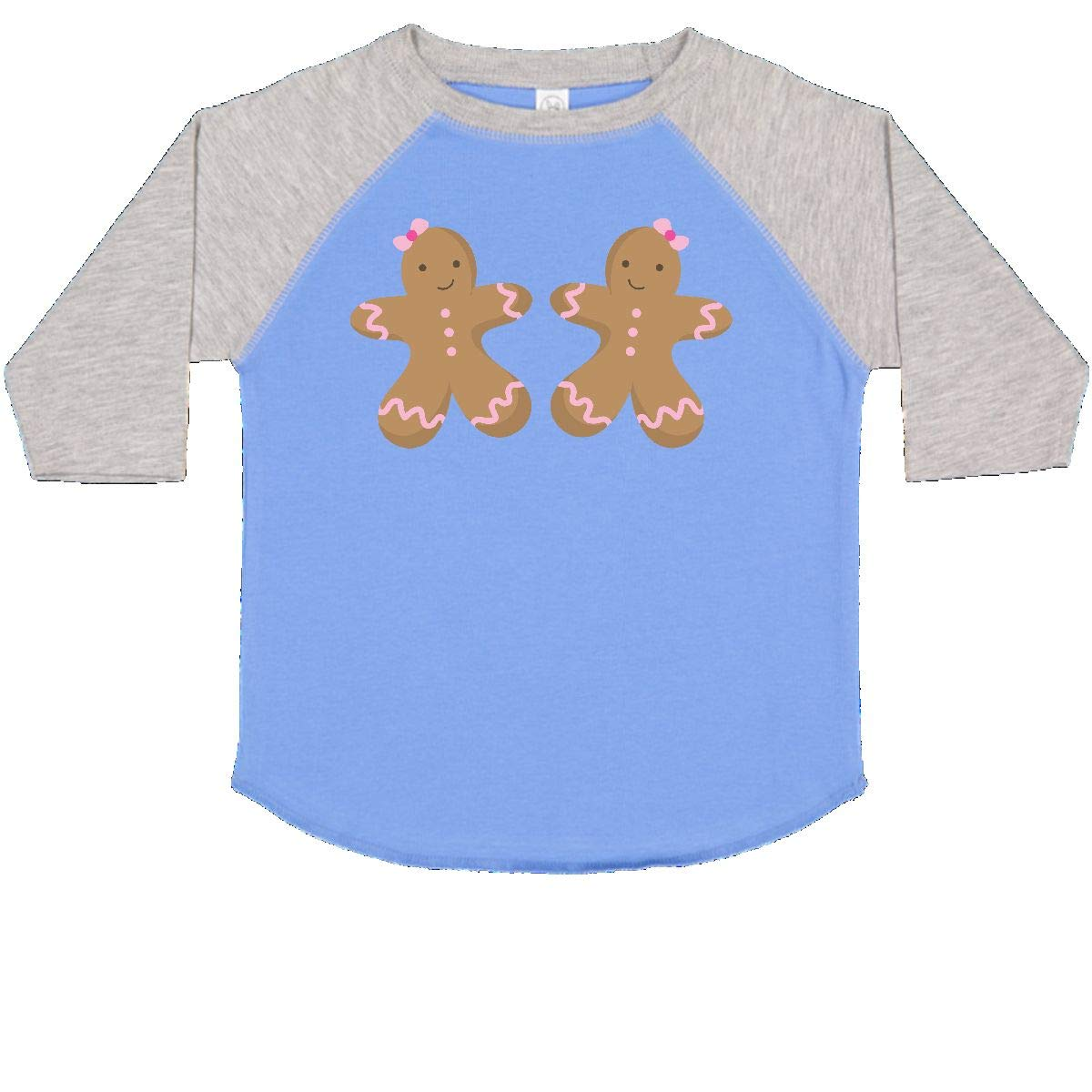 inktastic Gingerbread Girl Twins Toddler T-Shirt