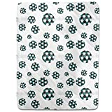 Soccer Fitted Sheet: King Luxury Microfiber, Soft, Breathable