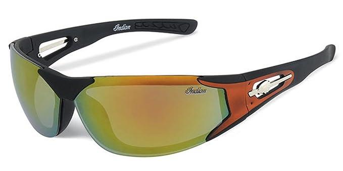Indian Para hombre gafas de sol para mujer para moto: Amazon ...