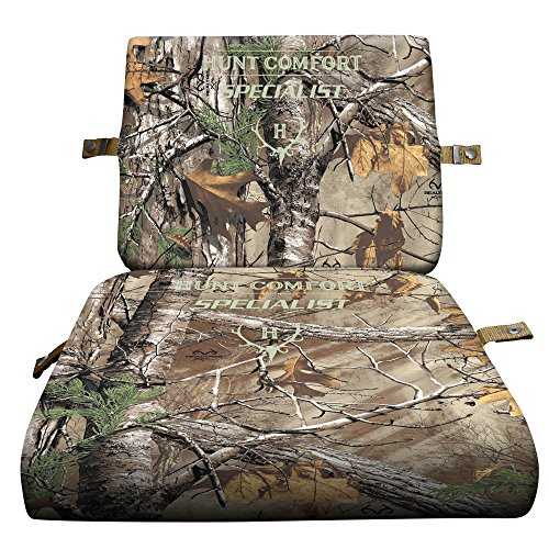 Hunt Comfort Specialist Super Light GelCore Folding Seat, Realtree Xtra by Hunt Comfort