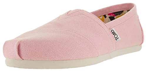 TOMS Canvas Classic Alpargata, Zapatillas de Estar por casa para Mujer, Rosa (Pink