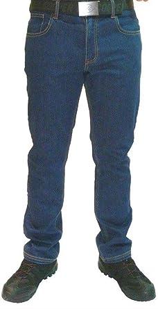 a2434ffd Mens Lee Cooper 218 Denim Blue Stretch Work Jeans Classic Fit 5 Pocket  Hardwearing Denim Trouser
