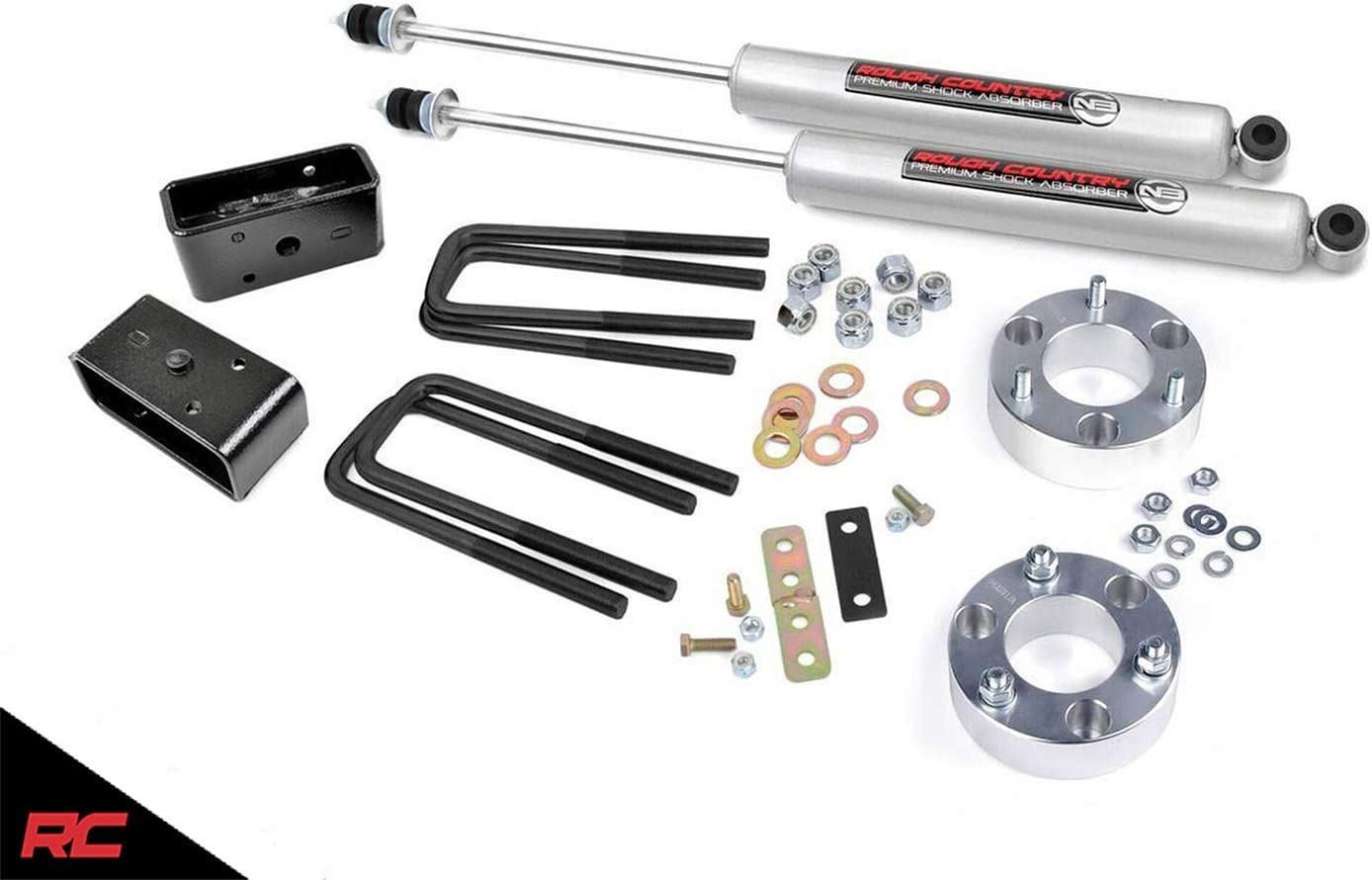 Billet Suspension System fits Rough Country 75030 2.5 Lift Kit N3 Shocks 2000-2006 Tundra