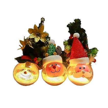 Teepao LED Christmas Ball Ornaments, Snowman Christmas Decorations Tree  Balls for Glittering Christmas Tree Pendants - Amazon.com: Teepao LED Christmas Ball Ornaments, Snowman Christmas