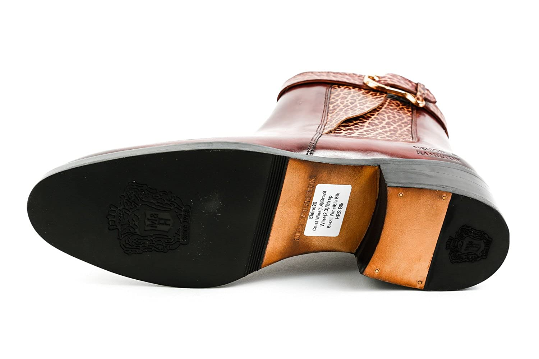 ac7098af80bc01 Melvin   Hamilton Damen Elaine 20 Chelsea Boots Weinrot Gr. 37  Amazon.de   Schuhe   Handtaschen