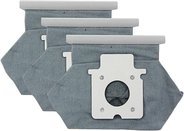 Meijunter - 3 bolsas de polvo para aspiradora Panasonic MC-E7101/MC-E7102/MC-E7103/MC-E7111/MC-E7113/MC-E7301/MC-E7302/MC-E7303: Amazon.es: Hogar