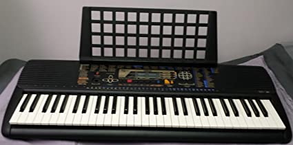 Yamaha PSR-195 Keyboard Synthesizer Electronic Piano Keyboard With Power Supply