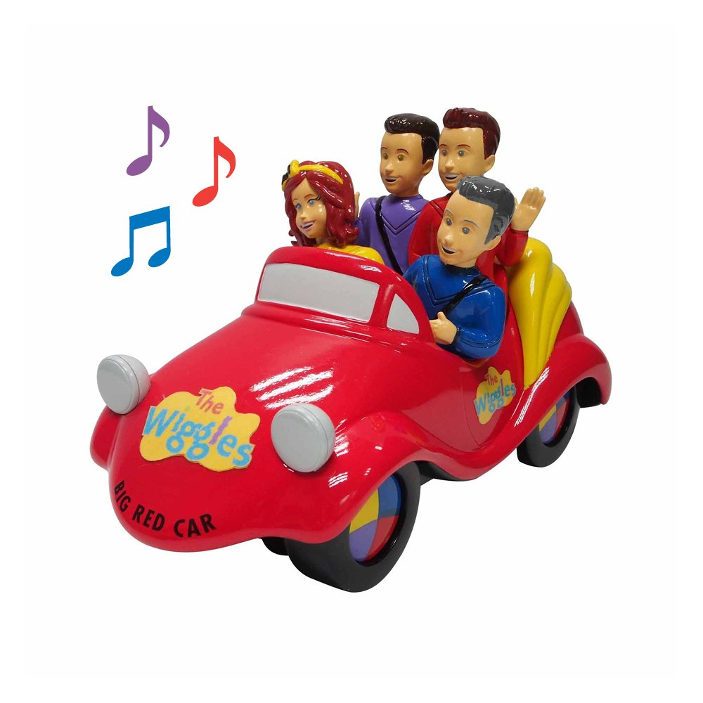 New Version of The Wiggles Big Red Car Toy