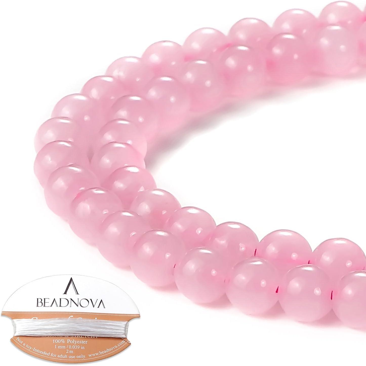 Chunky Rose Quartz Beads Rose Quartz Beads Carved Rose Quartz Natural Rose Quartz Beads Rose Quartz Carved Rose Quartz Crystal
