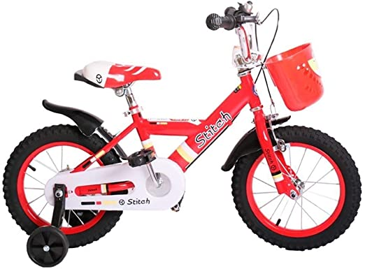 AJZGF Bicicletas niños Bicicleta Infantil 3-8 años niña y niño ...