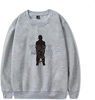 BESTHOO Unisex DJ Avicii Moda Cuello Redondo y suéter de Terciopelo Caída Invierno Sueter Adecuado para Ni?os y ni?as Casual Sueter B017NB54JY27811UM