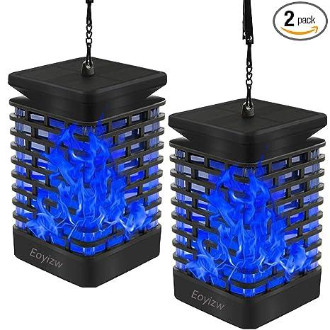 Amazon.com: Eoyizw Farol de llama solar para jardín al aire ...