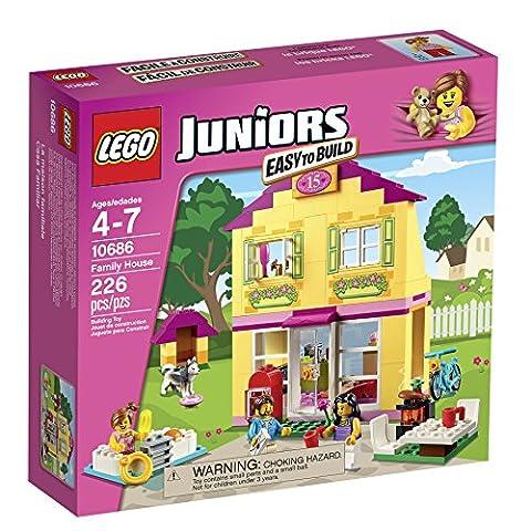 LEGO Juniors 10686 Family House Building Kit (Lego Junior Princess)