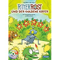 Ritter Rost und der goldene Käfer: Buch mit CD