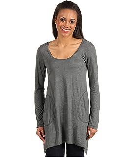 425c82e0123 Allen Allen Women's Jersey Long Sleeve Scoop 2-Pocket Tunic