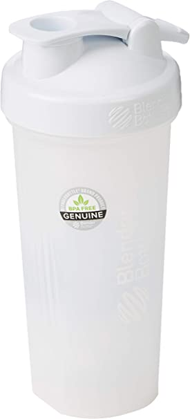 BlenderBottle Classic Loop - Botella Mezcladora de Batidos de proteínas con batidor Blenderball 590 ml