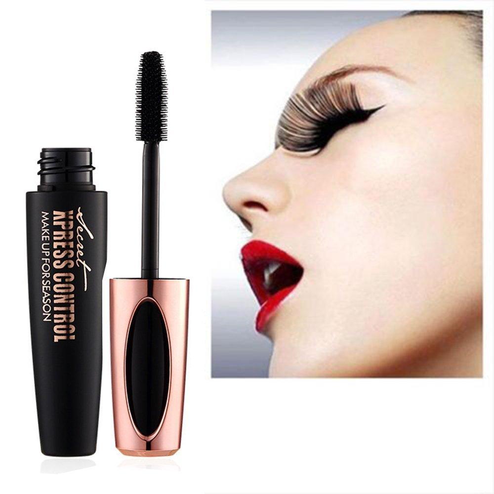 c4bf22f6851 Amazon.com : Original Macfee 2019 4D Brush Eyelash Mascara Special Edition Secret  Xpress Control Costmetics New Stock - 2 pcs Lot : Beauty